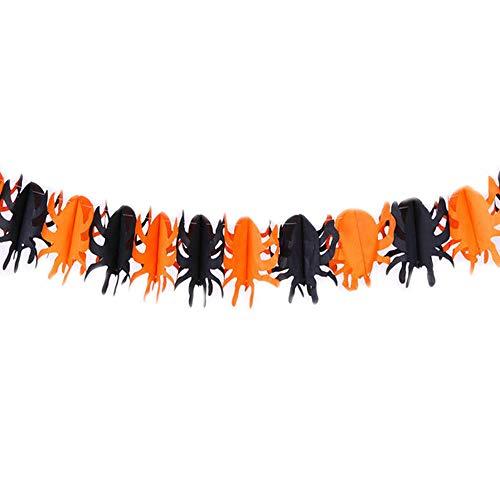 bis Scary Witch Garland Halloween Papier Haunted House Prop Nützlich [3 ] ()