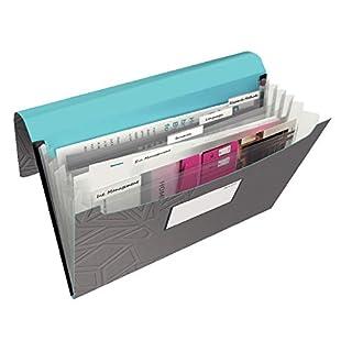 Leitz, Projektmappe, Für bis zu 150 Blatt A4, Gummibandverschluss, PP-Material, Dunkelgrau, Urban Chic, 39970089