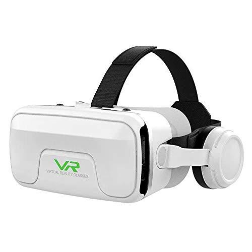3D VR Brille für Handy, Video Movie Game Brille Virtuelle Realität Headset Kompatibel mit iOS, Android und Anderen Handys innerhalb von 4.0-6.0 Zoll - G04E,B