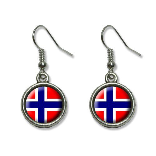 norway-norwegian-flag-novelty-dangling-dangle-drop-charm-earrings