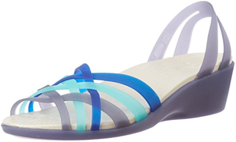 Crocs - Huarache Mini Wedge, Sandalo Sandalo Sandalo Zeppa Donna | Aspetto piacevole  | Uomo/Donna Scarpa  22aba5