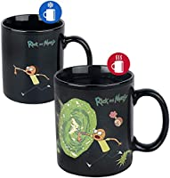 Cartoon Network scmg24959 Rick And Morty (Portals) Heat Changing Mug, multicolor