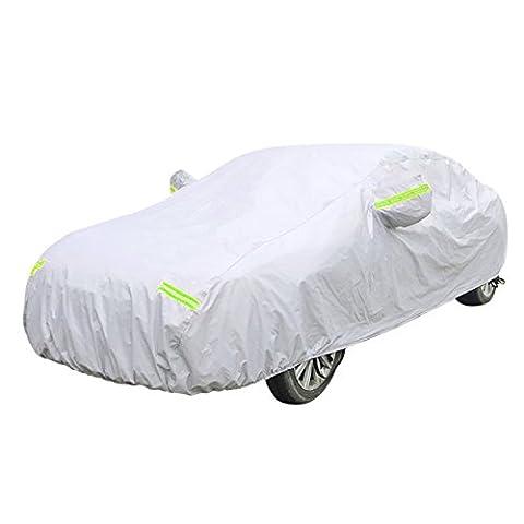 FREESOO Bâche Auto Housse pour Renault/Peugeot/Citroën VOITURES VETEMENTS Étanche et perméable à l'humidité, le vent,la neige (XXL)580*175*120CM