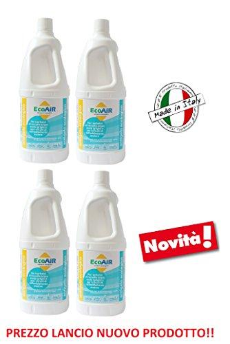 ANTIGELO ANTICONGELANTE Ideale per ACQUE Grigie Camper IDONEO Anche per Qualsiasi Motore E Circuito di Raffreddamento - Prodotto ATOSSICO Made in Italy - Offerta per 4 Bottiglie da 2 Lit