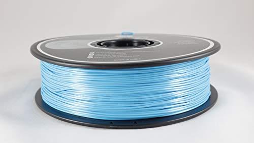 FAKER FROG PRIME PLA Filamento de Impresión 3D - Filamento PLA+ Premium, 1.75mm 0,02MM 1KG | Impresora 3D y boligrafo/pluma 3D (Azul Seda)