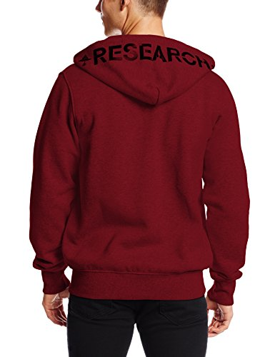 LRG Uomo Maglieria / Hoodies con zip RC Rosso