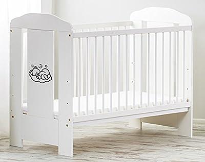 Color Blanco 120X 60Cm Cuna colchón de espuma con Gratis Baby Cama Cuna ekmtrade