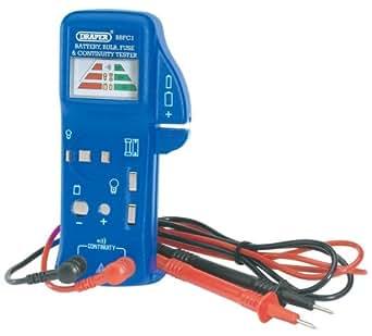 Draper 57574 Testeur de batterie, ampoule et fusible (Import Grande Bretagne)