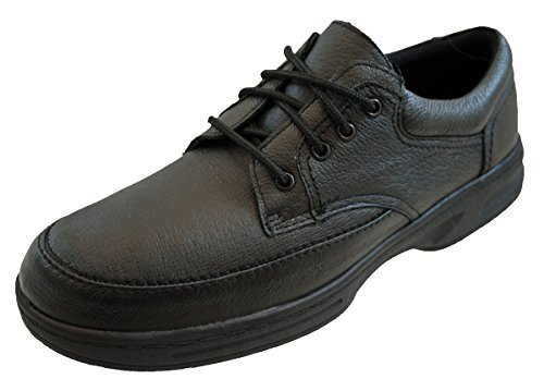 Mens Black-Taupe Or Brown Lace Up Dr Keller Brian Comfort Shoes -...