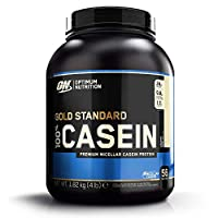 Optimum Nutrition Gold Std 100% Casein Creamy Vanilla, 4Lb(4/Case)