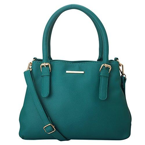 Lapis O Lupo Cyan Women Handbag (Tourquise)