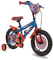 "Spartan 14"" Marvel Spiderman Boys Bicycles Size: 14 I"