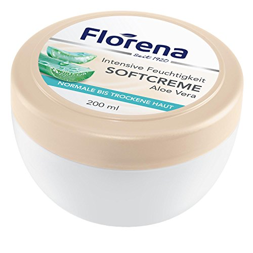 Florena Softcreme mit Aloe Vera, vegan, 1er Pack (1 x 200 ml)