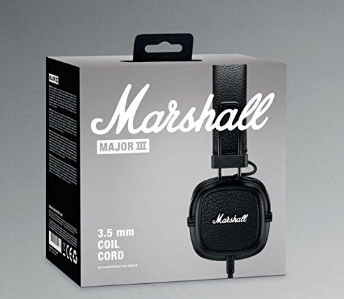 Marshall Major III On-Ear Headphones (Black) Image 8