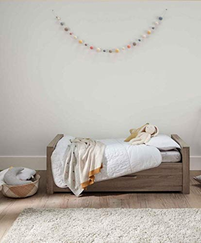 Mamas & Papas Franklin Cot/Toddler Bed Grey Wash Mamas & Papas SAVE £49 - compared to buying items individually COT BED – The 3-in-1 cot bed has 2 base positions and converts into a toddler bed and day bed to grow with your child and there's a handy draw for extra storage. DRESSER CHANGER – Provides you all of your nursery storage needs with 3 soft close draws giving you plenty of space. 6