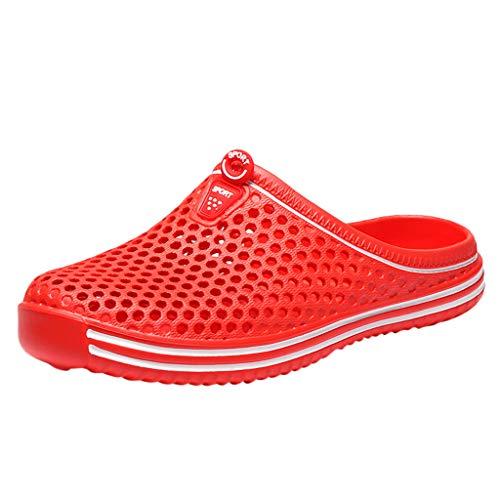ODRD Sandalen Shoes Damen Herren Paare Unisex aushöhlen Rutschfeste Hausschuhe Strand Outdoor Schuhe Schuhe Strandschuhe Freizeitschuhe Turnschuhe ()