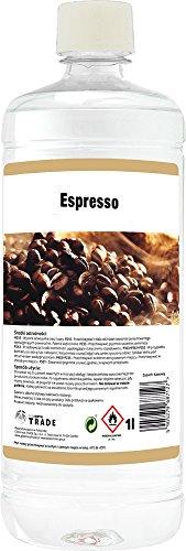 5 x Bioethanol – mit einer Espresso Duftnote - 5 Liter in 1 Liter Flaschen (Espresso-kamin)