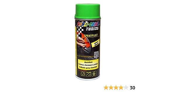 Dupli Color 388071 Sprayplast Abziehlack 400 Ml Grün Glänzend Auto