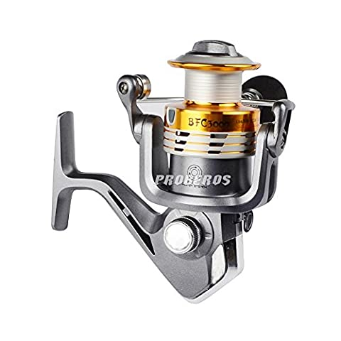 Amazmall Fishing Reels Full Metal Spinning Reel High Speed Sea Reels Left/Right Interchangeable