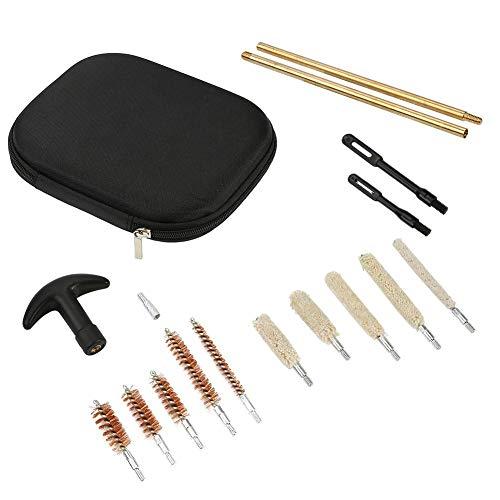 Alomejor Multi Gun Cleaning Kit Stabbürsten mit Tragekoffer für Luftgewehr Pistolen Handpistolen