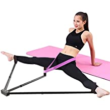wildlead Jambière de Jambe de Fer 3 Barre Extension de Jambes Outil de Formation Flexibilité Machine pour Ballet Balance
