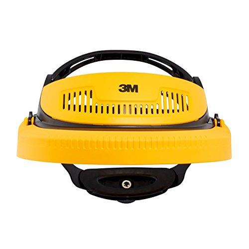 3M G500-GU Kopfhalterung kombinierter Gesichts und Gehörschutz, Gelb