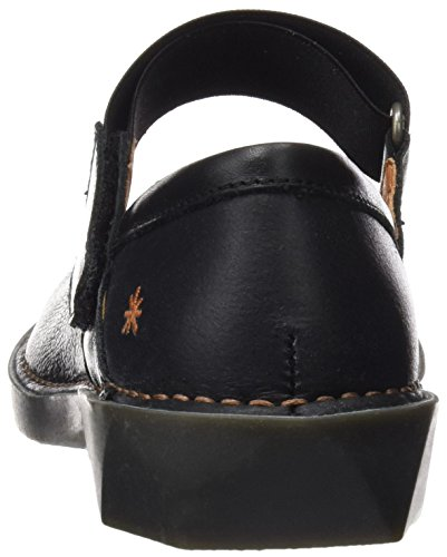 ART 0926 Memphis Bergen, Ballerine Closed-Toe Donna Nero (Black)