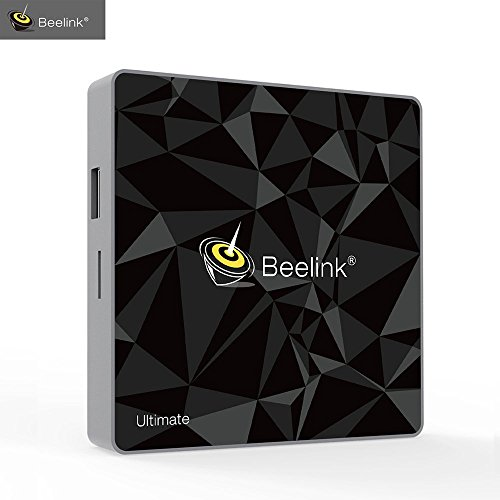 [RAM 3GB ROM 32GB]4K Smart Android 7.1 TV BOX Beelink GT1 Ultimate - Amlogic S912 Octa Core / 4K 60FPS / BT 4.0/ H.265/ 1000 LAN/ WIFI 2.4Ghz 5.8GHz HDMI Smart Box TV