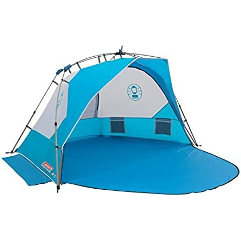 Coleman Sundome FastPitch Beach Shelter - Blue by Best Price Square