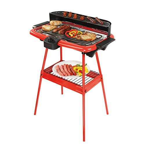Be Nomad dom297r Standgrill, rot/schwarz