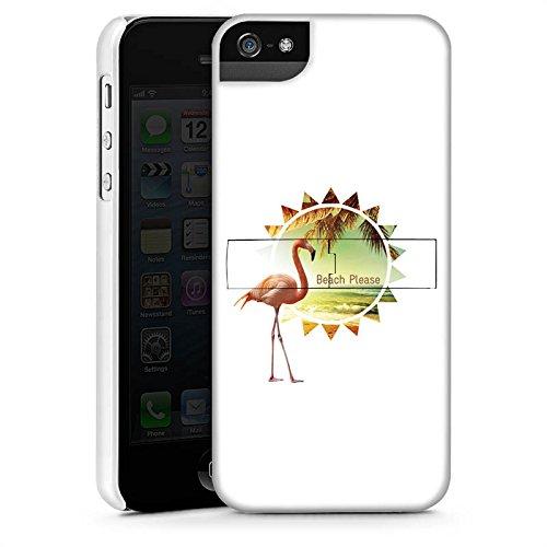 Apple iPhone X Silikon Hülle Case Schutzhülle Flamingo Beach Urlaub Premium Case StandUp