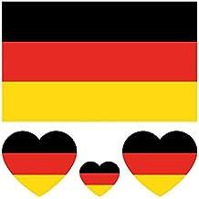 Einmal Tatoo Fußball Deutschland Flagge NEU OVP Fußball
