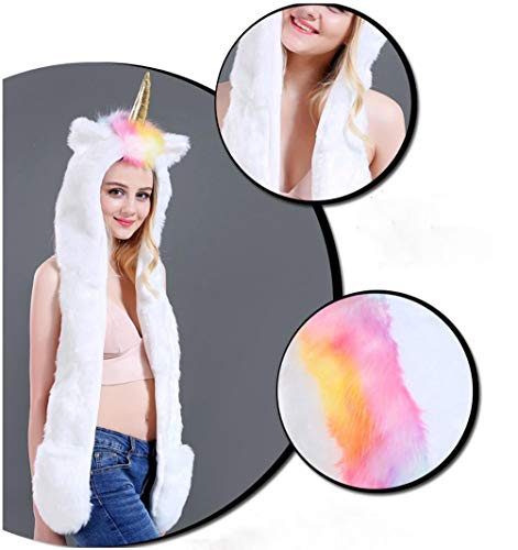 Furry Rave Kostüm - About Beauty 3 In 1 LED