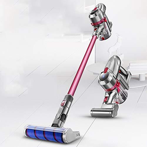 Cleaner Drahtloser Staubsauger 2-In-One-Push/Handheld-Geräuscharmer, Intelligenter Batterieanzeige Überladeschutz-Staubkappen Sind Abnehmbar Gereinigt