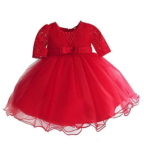 Melodycp Prinzessinnen-Kostüm für Mädchen, Tüll, mit Blumen, für Babys, bequem, Baumwolle, 2