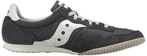 Saucony Originals Men's Bullet Classic Sneaker,Navy/Gray,10 M US Navy/Gray