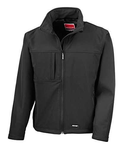 Result - Classic Soft Shell Jacket II. Black