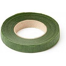 2XMoss tallo verde cinta 90pies x 13mm. Vástago–Tex. Para Corsages, ramos, flores, Arreglos y Manualidades.