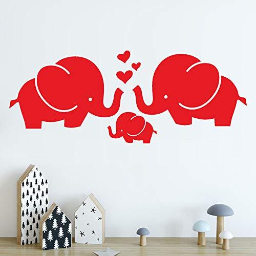 zzlfn3lv Tres Elefantes Living Dormitorio niños Desmontable Art Vinyl Mural Wall Sticker...