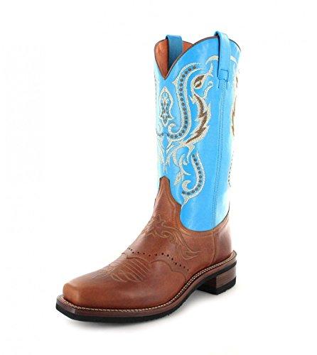 Sendra Bottines Tang Bottes Femme Celeste Cowboy Boots Et tPqY8wOq