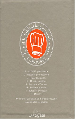 La petite bibliothèque cuisinière : Coffret en 8 volumes par Larousse