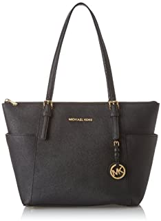 Michael Kors Jet Set Item East West Top Zip, Borsa Tote Donna, Nero (Black), 11.4x25.4x38.1 Centimeters (W x H x L) (B007X8LAV0) | Amazon price tracker / tracking, Amazon price history charts, Amazon price watches, Amazon price drop alerts