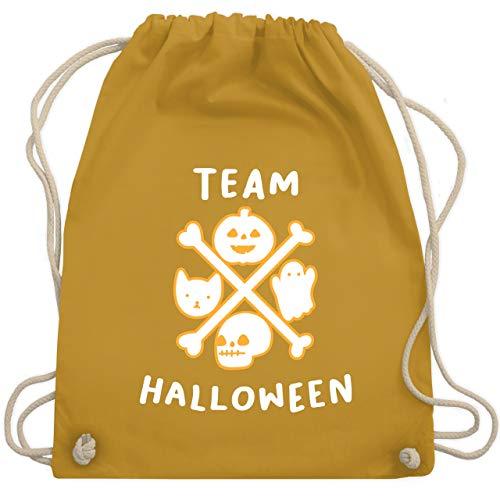 Halloween - Team Halloween - Unisize - Senfgelb - WM110 - Turnbeutel & Gym ()