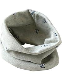 Bufandas de cuello de bebé,RETUROM nuevo estilo popular del invierno del otoño muchachas de los muchachos del bebé de la bufanda de cuello del algodón O Ring Pañuelos