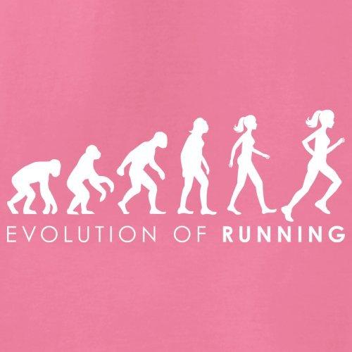 Evolution of Woman - Laufen - Damen T-Shirt - 14 Farben Azalee