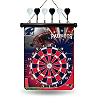 Rico Industries NFL NEW ENGLAND PATRIOTS Magnet Dart Board