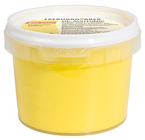 Eberhard Faber 578807 - Fingerfarbe im Farbtöpfchen, 100 ml, gelb