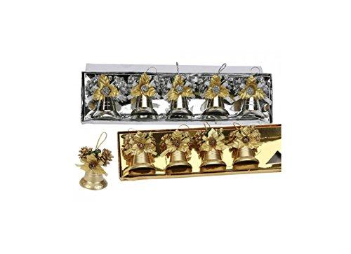 5campane con cono con finiture in argento o oro-Homestreet Christmas