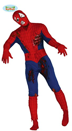Zombies Kostüm Superhelden - Superheld Zombie Kostüm für Herren Gr. M/L, Größe:M