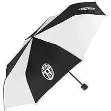 Paraguas Plegable Juventus Football Club - Mini Paraguas Juve - Ligero y Compacto - con Original
